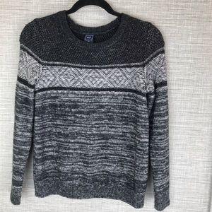 Gap Grey Knit Wool Sweater Size XS